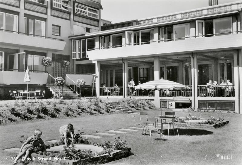 Strand hotell, Gjøvik. Foto: Mittet/Mjøsmuseet. (Foto/Photo)