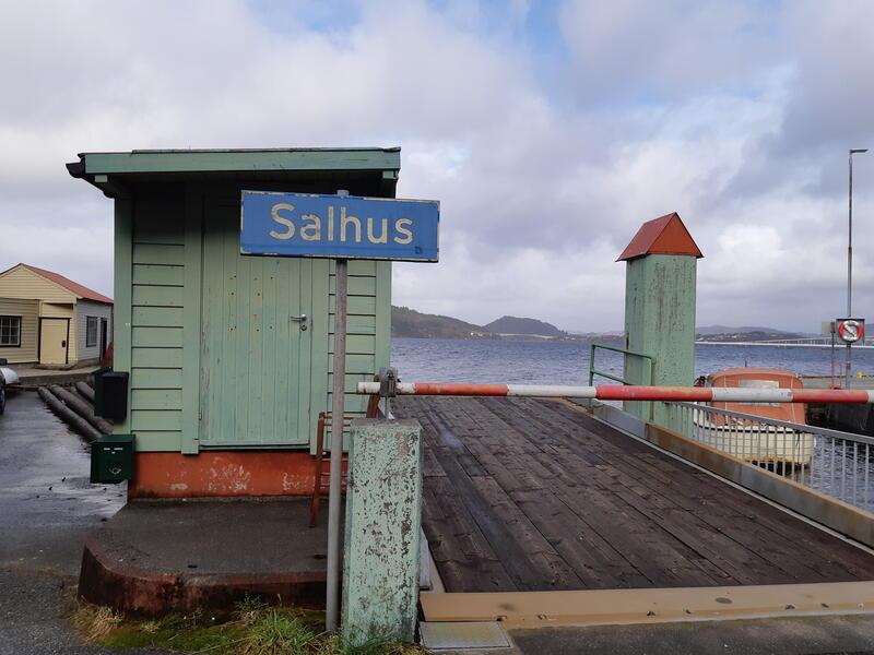 Salhus ferjekai, Bergen kommune. Foto: Siv Annie Henriksen (Foto/Photo)