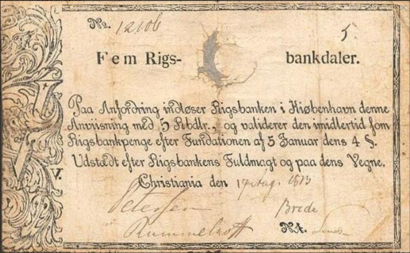 Rigsbankdaler (Foto/Photo)