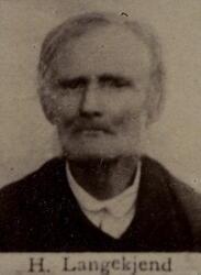 Dagvarter Henrik O. Langekjend (1808-1892) (Foto/Photo)