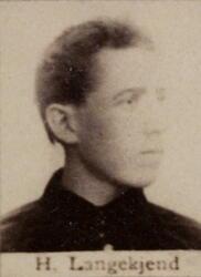 Sjeider Henrik J. Langekjend (1868-1928) (Foto/Photo)