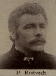 Borhauer Peder S. Ristvedt (1856-1906) (Foto/Photo)