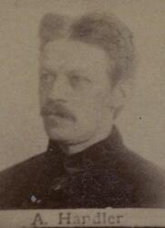 Ertsleiter August M. Handler (1852-1923) (Foto/Photo)