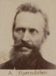 Ertssjeider Amund R. Bjørndalen (1830-1915) (Foto/Photo)