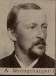 Pukkverksoppseer Adolf Strengehagen (1852-1928) (Foto/Photo)