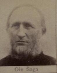 Tønneinntaker Ole L. Saga (1838-1907) (Foto/Photo)