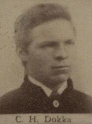 Borhauer Christen H. Dokka (1865-1938) (Foto/Photo)
