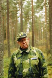 General Johan Hedestedt, överbefälhavare.
