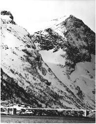 Lofotevegen ved Reine i Lofoten