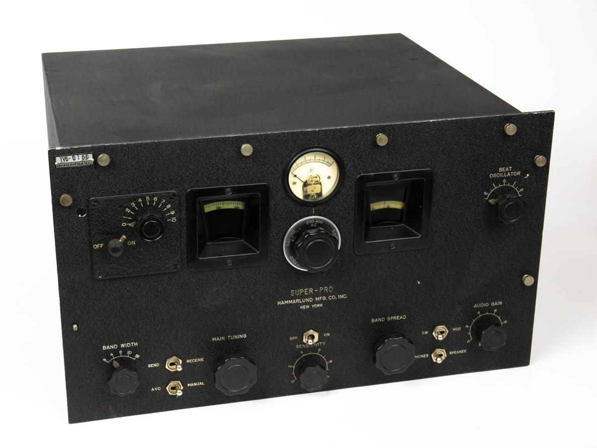 Radiomottagare MRM 5 till markradiostation FMR-1 B.