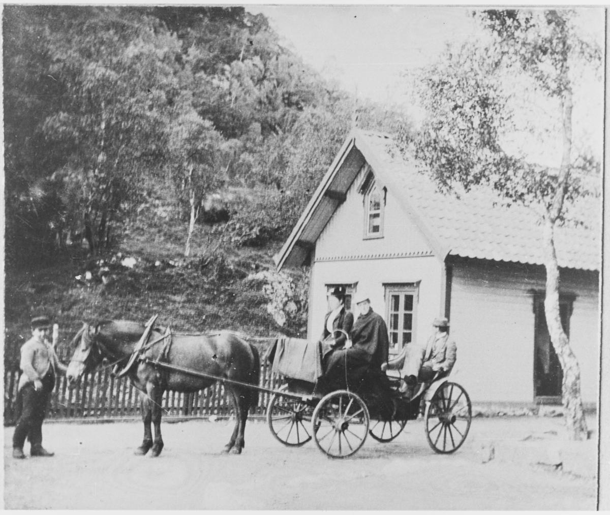 Sportsheim i Bjerkreim, ca. 1900.