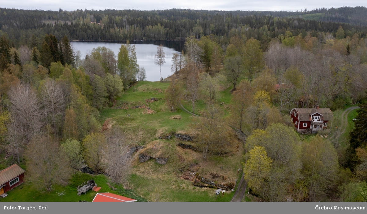 Filmklipp från Grecksåsars hyttruin.