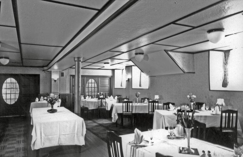 Victoria Hotel, Gjøvik, 1939. Foto: Nelly Westby Knutsen/Mjøsmuseet (Foto/Photo)