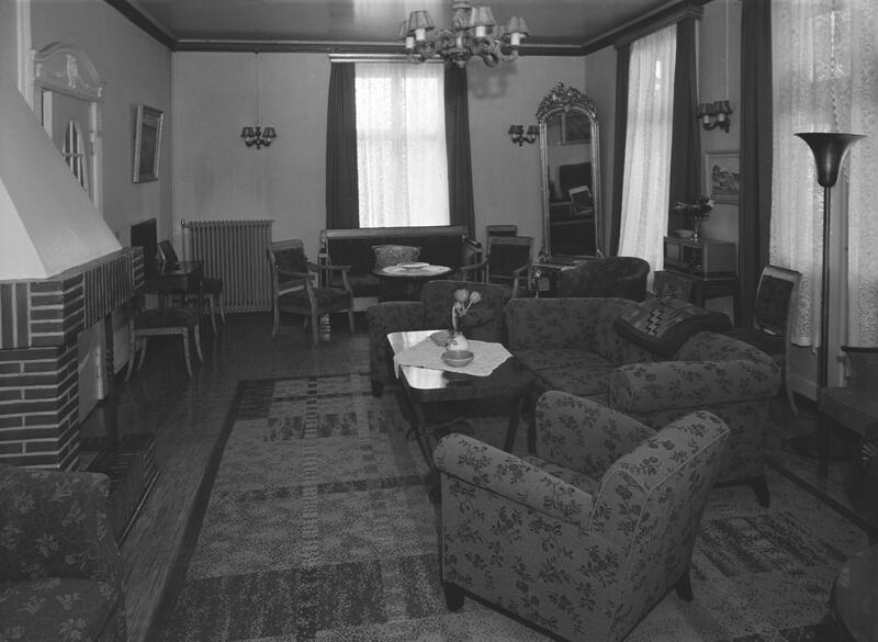 Victoria hotell, Gjøvik. Foto: Nelly Westby Knutsen/Mjøsmuseet. (Foto/Photo)