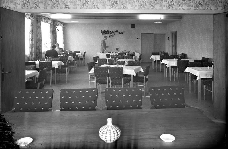 Hotell Central, Elverum. Foto: Erling Syringen/Anno Glomdalsmuseet. (Foto/Photo)