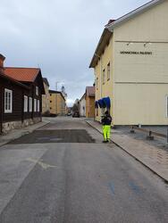 Arkeologisk schaktningsövervakning, Prästtägten Västra Falun