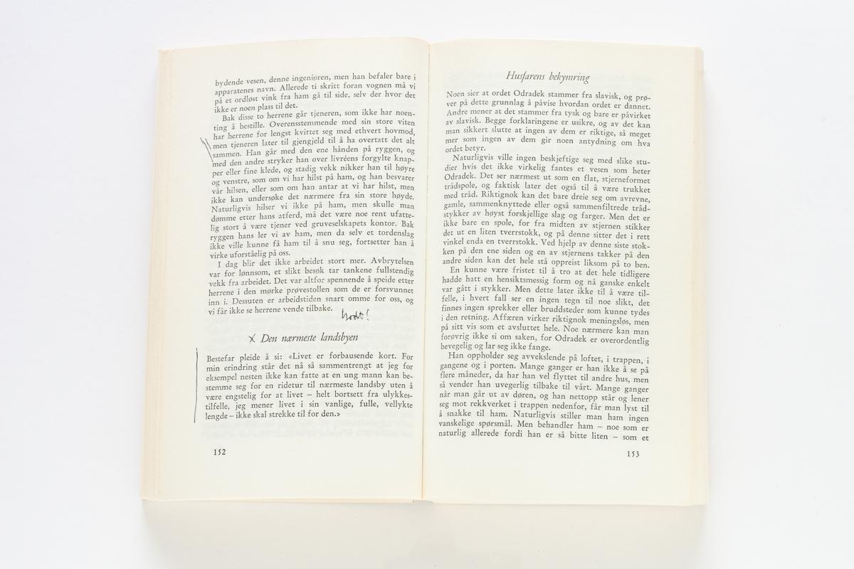 Franz Kafka: Fortellinger