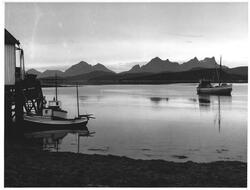 Fra Sørkil mot syd-vest, Nord for Hamarøy