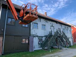 Både Depotet og Østerikegata er blitt malt (Foto/Photo)