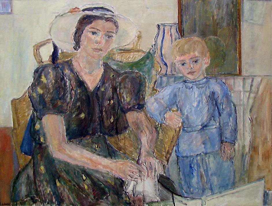Høytlesning [Maleri]