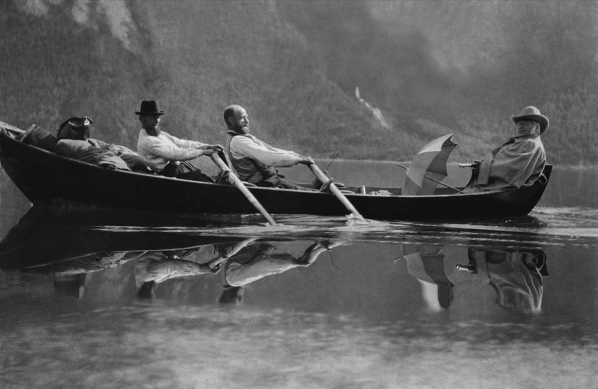 Album, båt, Eresfjord, BB,