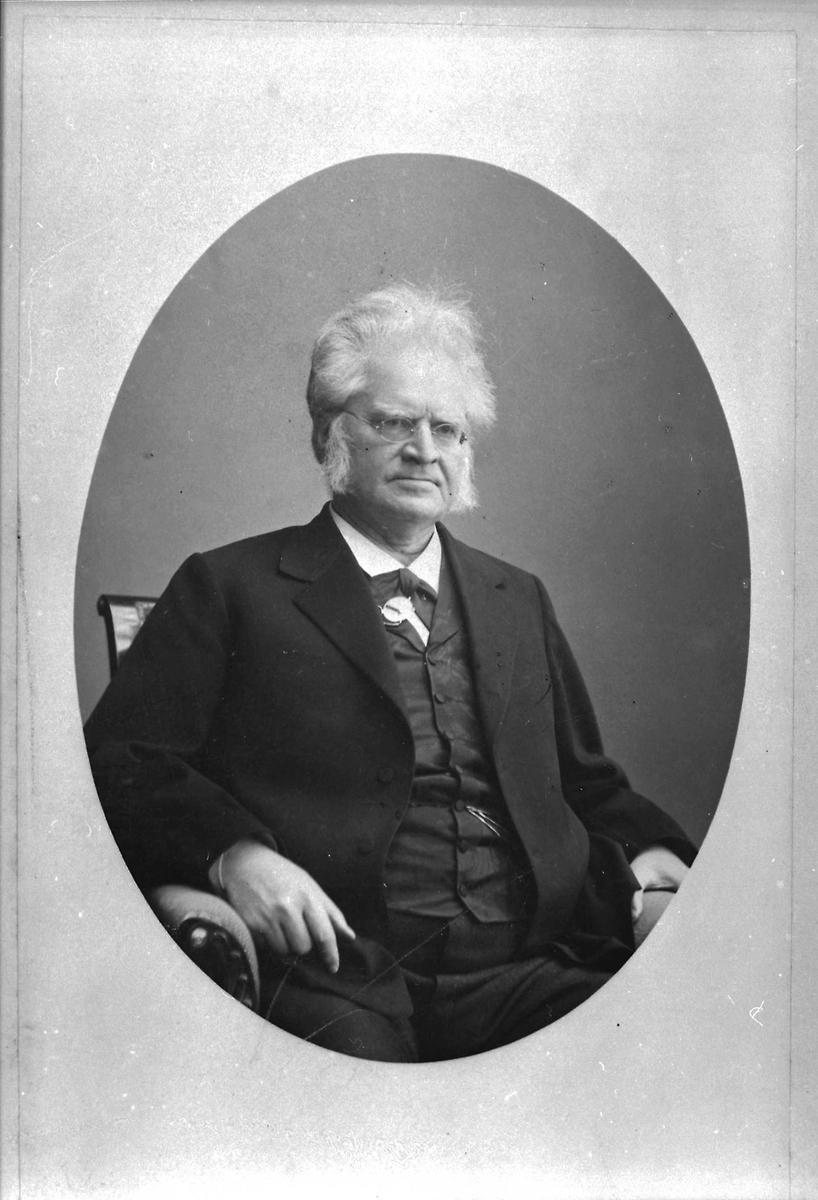Bjørnson, briller, stol
