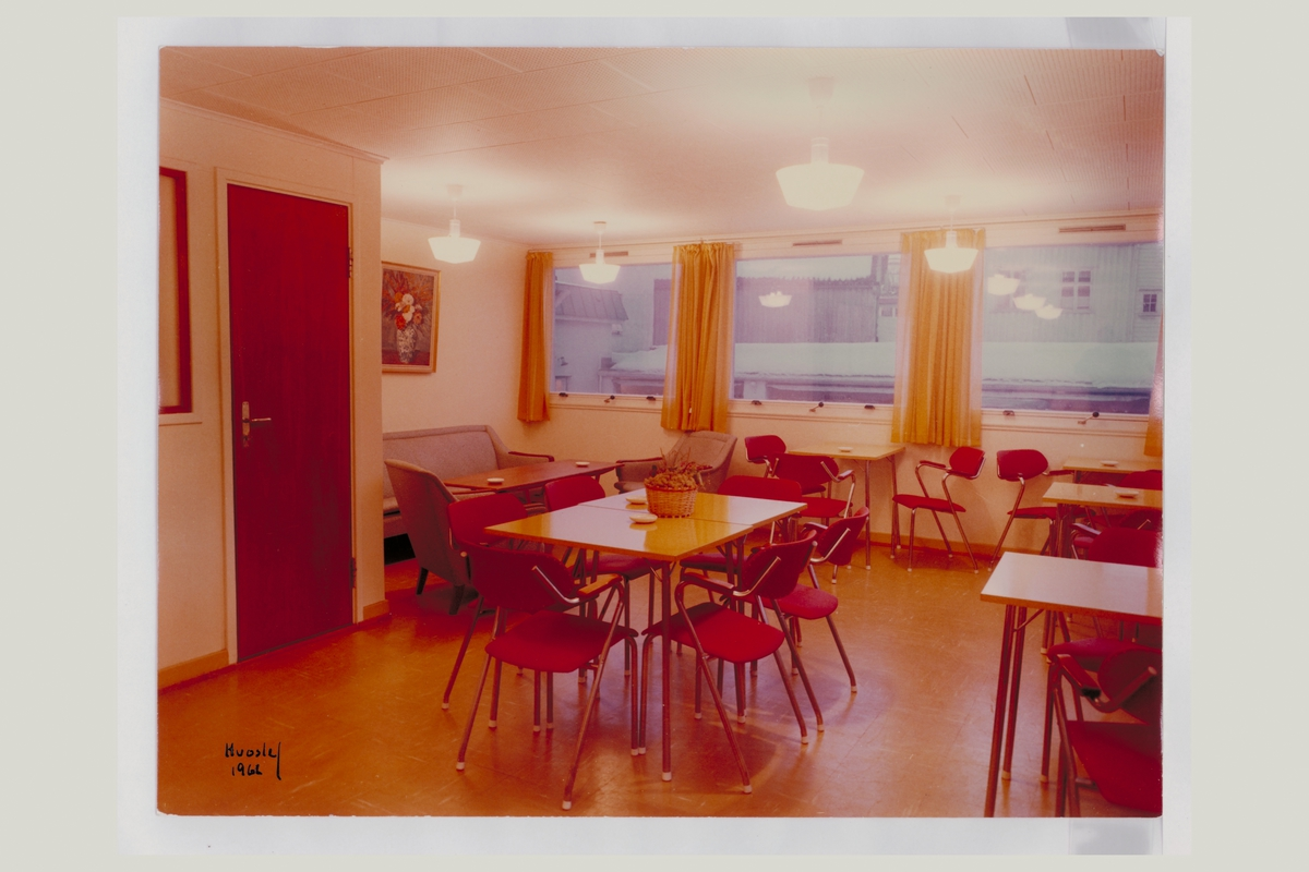 interiør, postkontor, 4800 Arendal, kantine