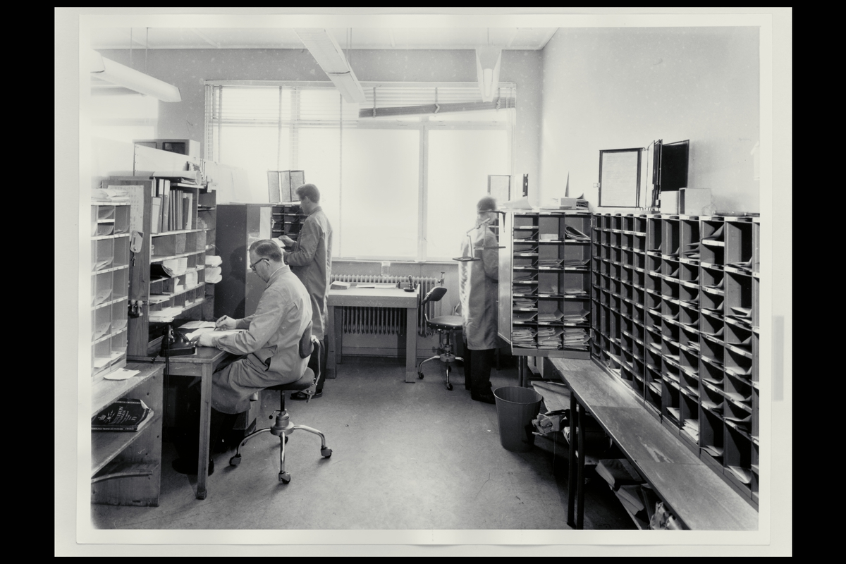 interiør, postkontor, 8000 Bodø, personale, sortering, brev
