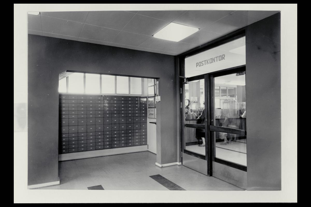 interiør, postkontor, 1101 Lambertseter, postbokser