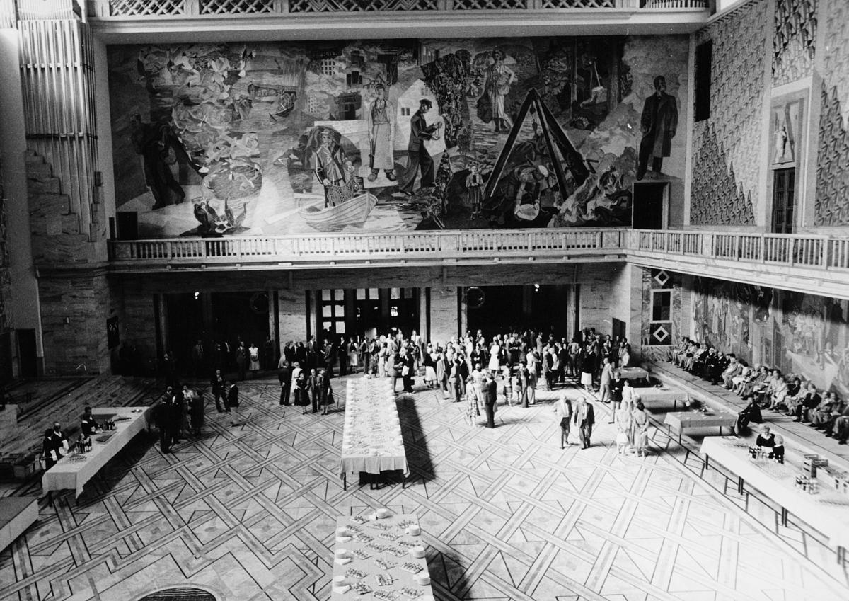 utstilling, Norwex 80, tilstelning i Rådhuset