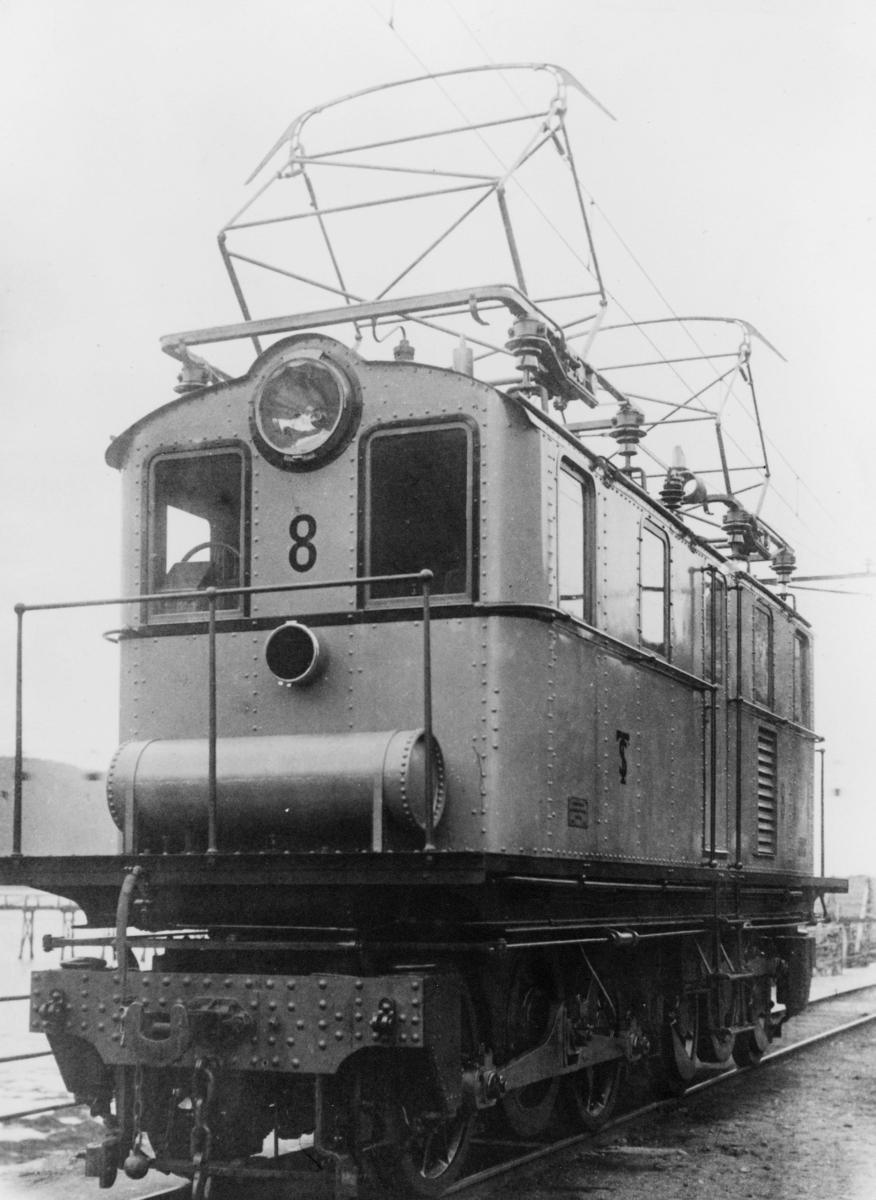 transport, tog, Thamshavnsbanen, elektrisk lokomotiv, privatbane