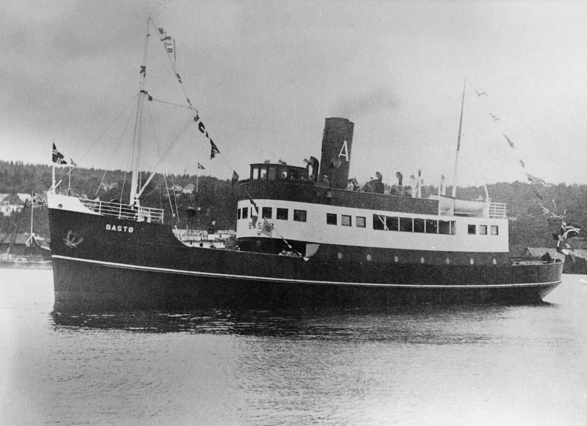 transport båt, eksteriør, D.s Bastø, Oslo-Moss