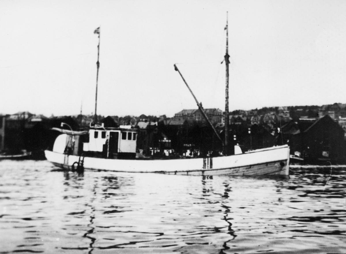 transport båt, eksteriør, M.K. Morild I
