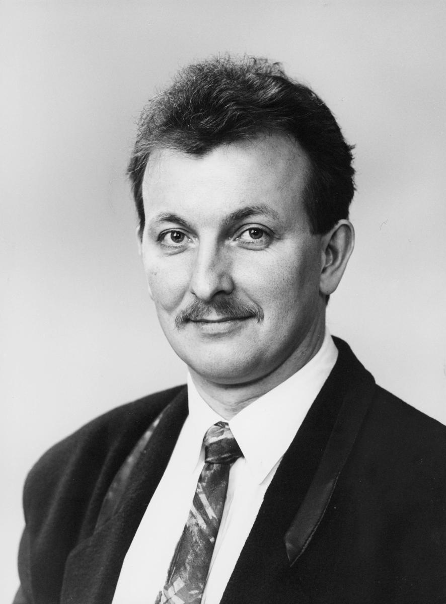 postsjef, Horstad Einride Normann, portrett
