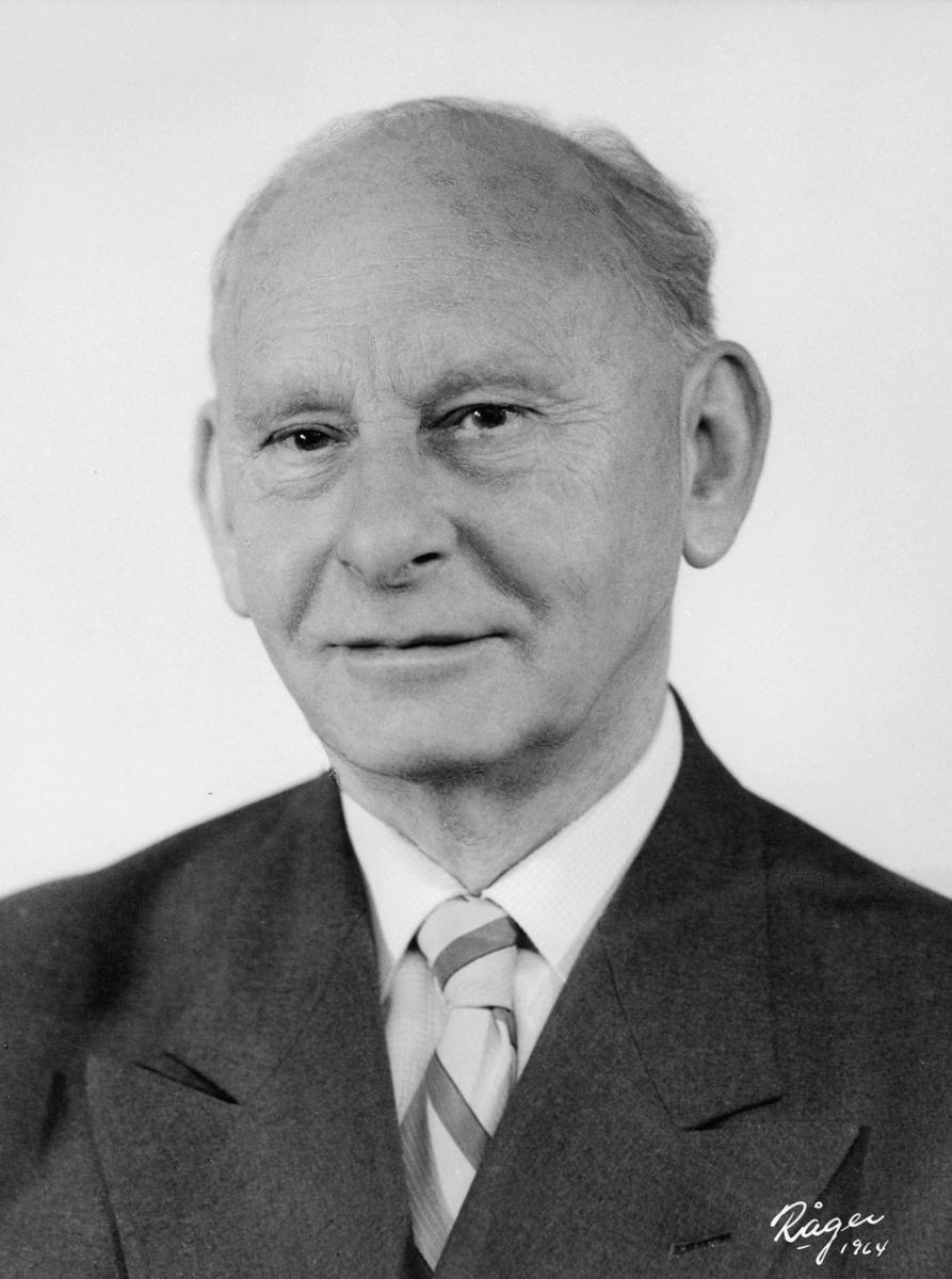 postmester, Wilhelmsen John Henry, portrett