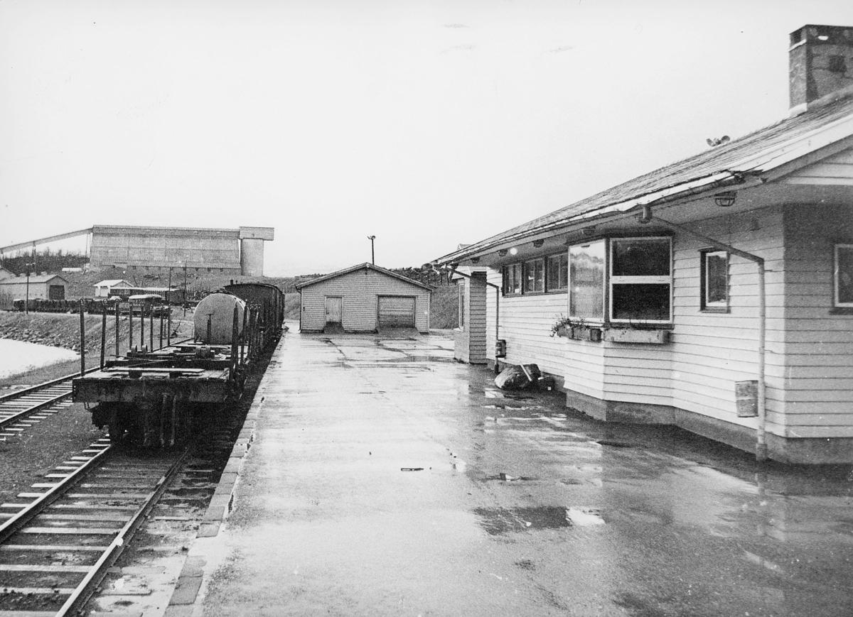 norgesbilder, 8230 Sulitjelma, jernbane, hus