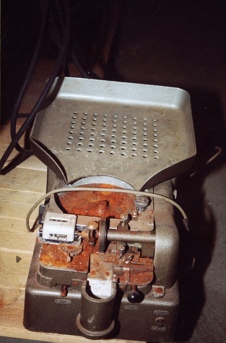 postsparebanken, postbanken, Biskop Gunnerus g. 14, maskiner, Standard-Rapid, No 703198 Typ E, liten maskin med telleapparat