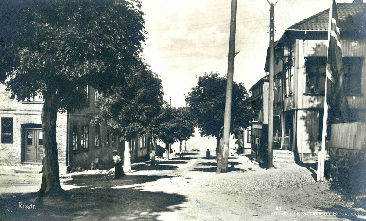 Gateparti fra Risør