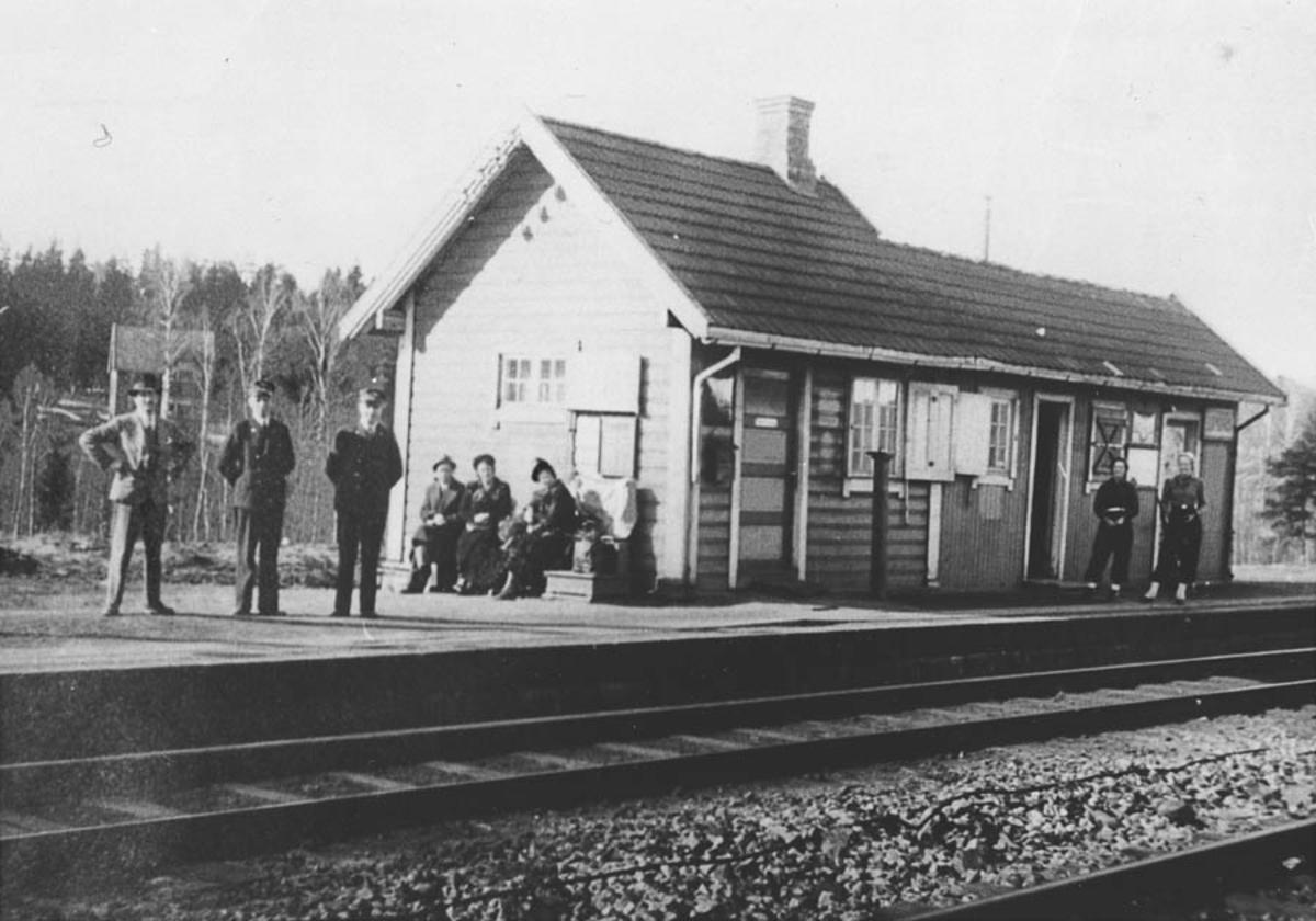 2 Langhus gamle stasjon
