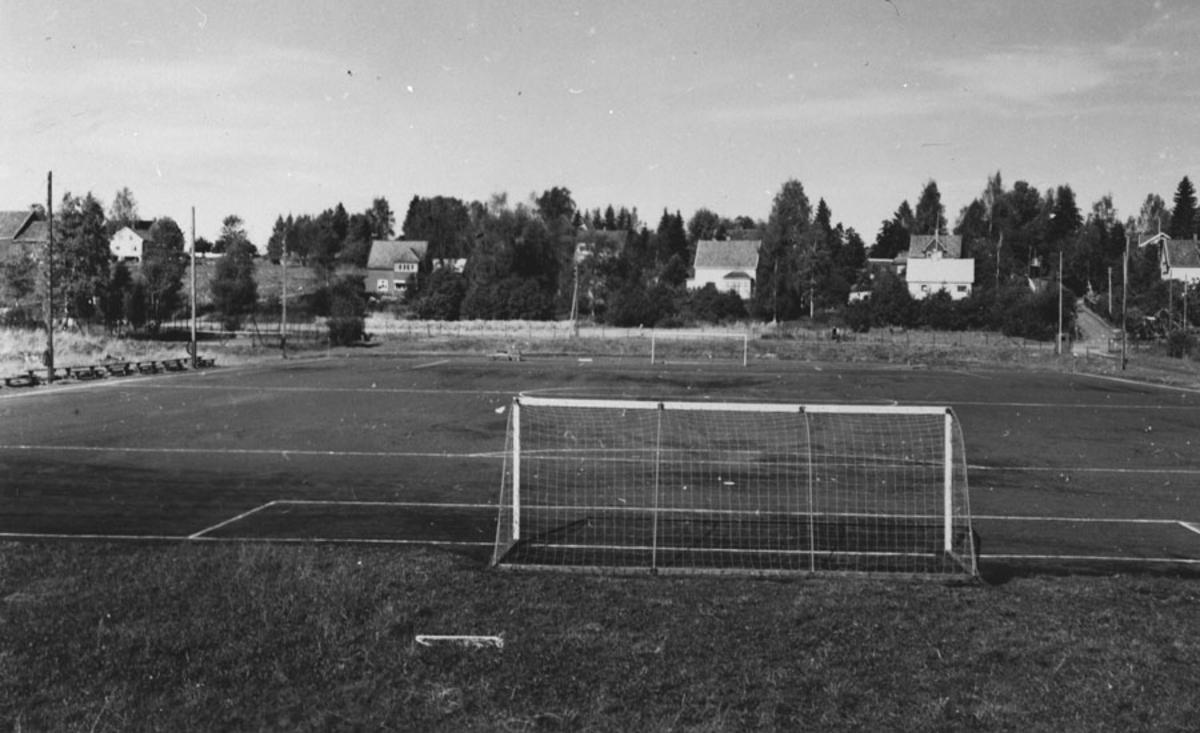 Fotballbane - fotballmål