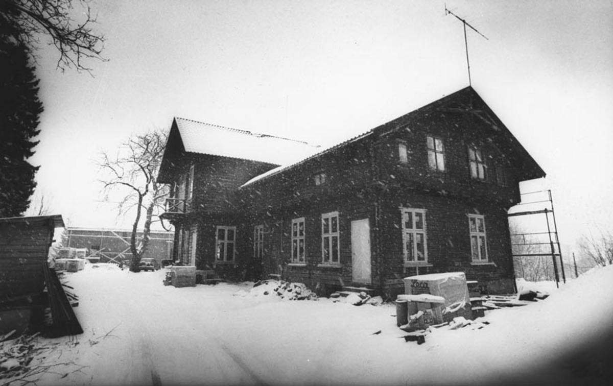 Fra restaureringen av Waldermarhøy. Eksteriør