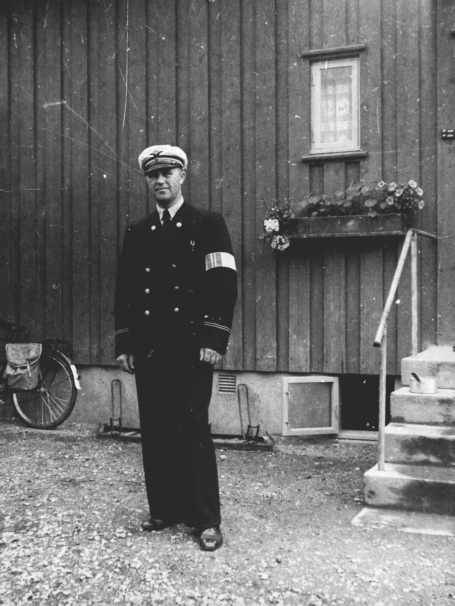Harald Fossum, forhenværende stasjonsmester.