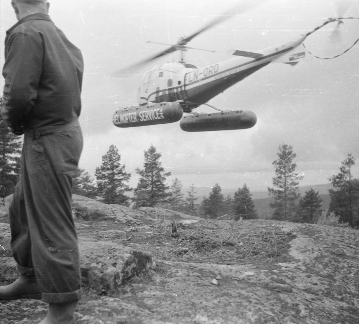 Helikopter , Bråteåsen.