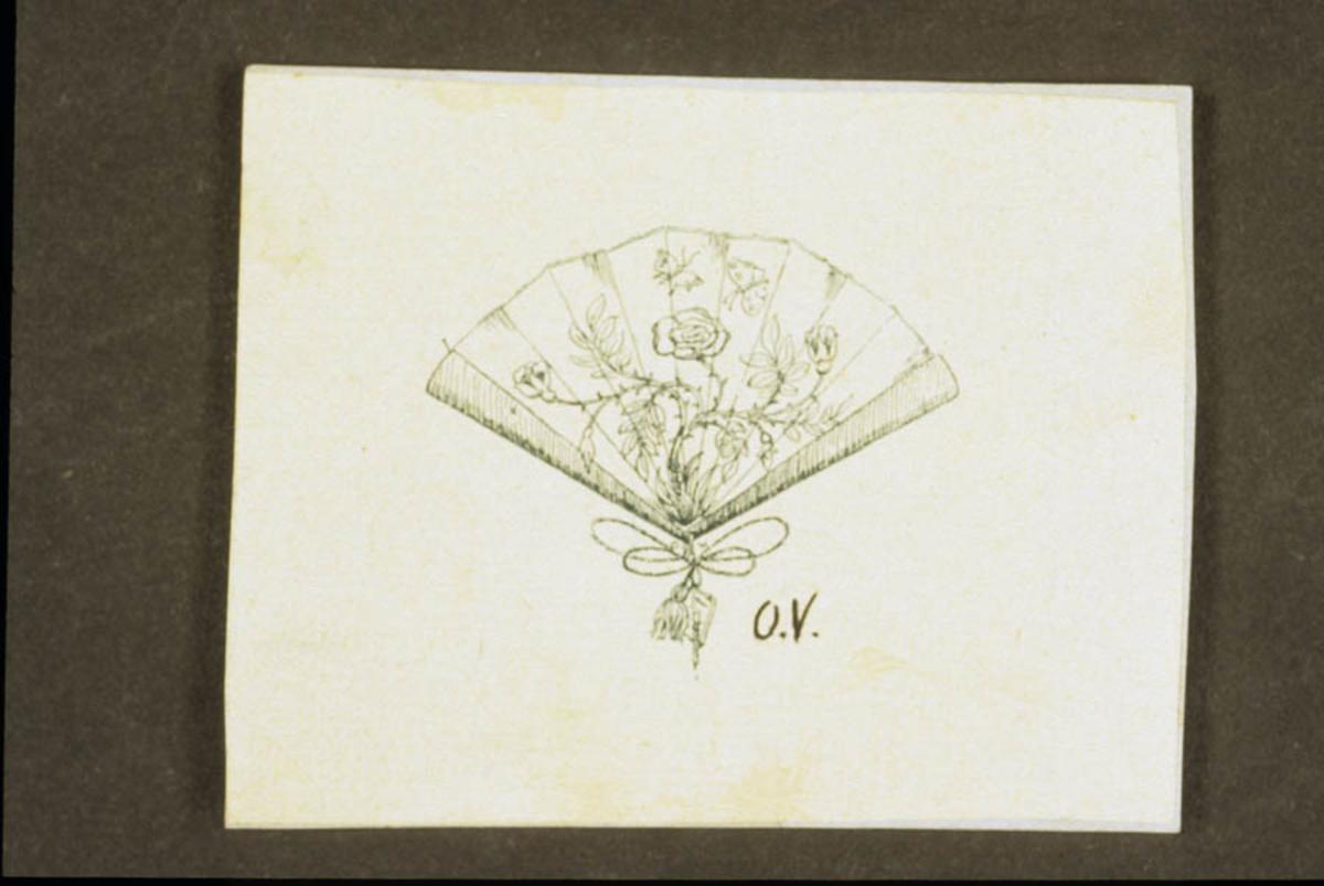 Vifte, tegning av Otto Valstad.