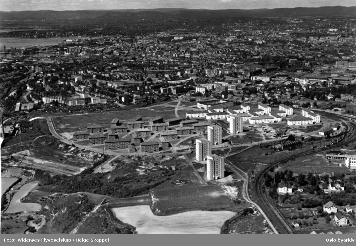 Etterstad (Flyfoto)