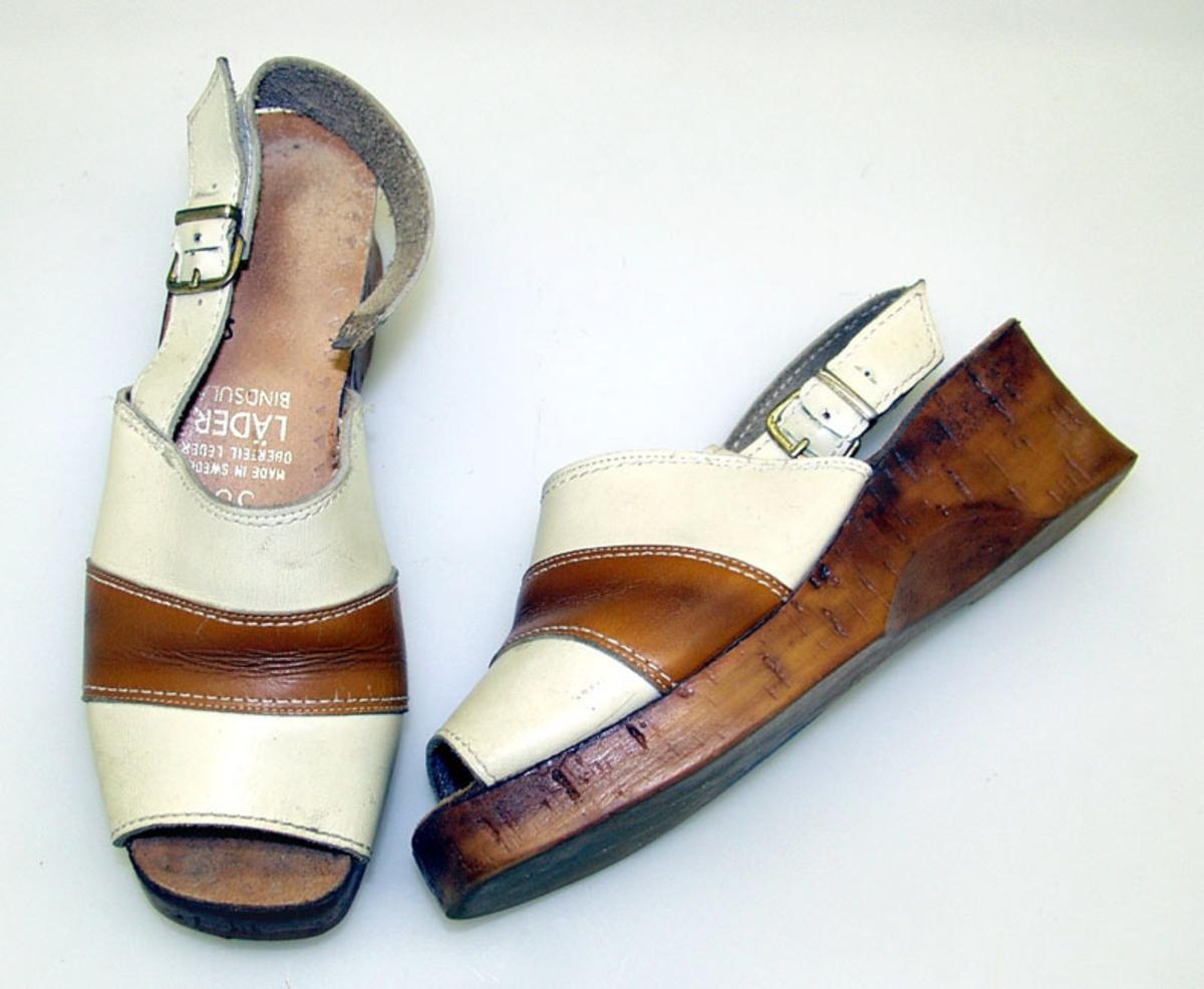 Form: Åpen tå og hæl