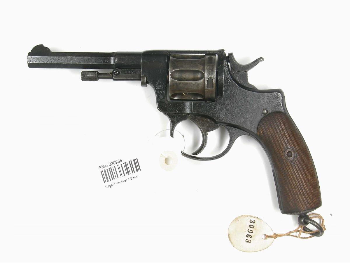 Revolver 7,5 mm Nagant M1893