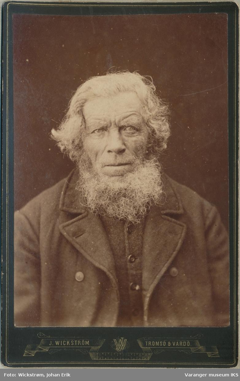 Portrett, Hans Elias Jensen ca. 1890-1897