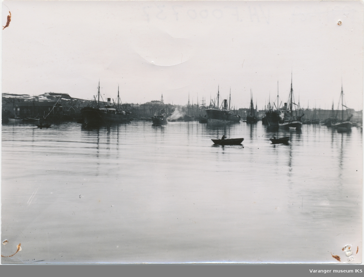 Dampbåter på Nordre Våg
