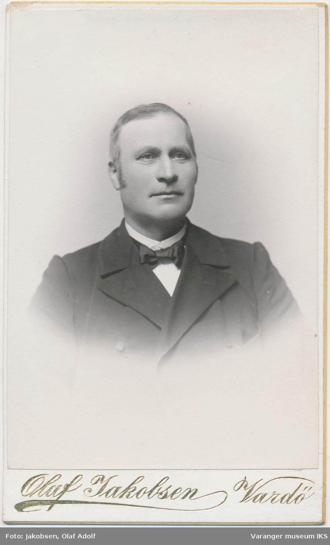 Portrett, Karsten Andreas Zachariasen, ca. 1900